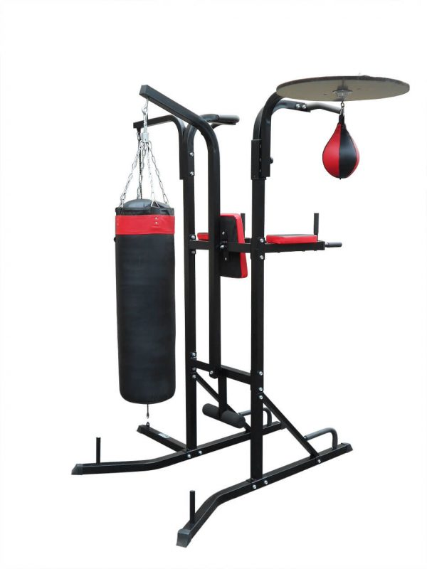 "ANCHEER 56/""~61/"" Adjustable Boxing Punching Bag Stand+Punching Trainer Adult"