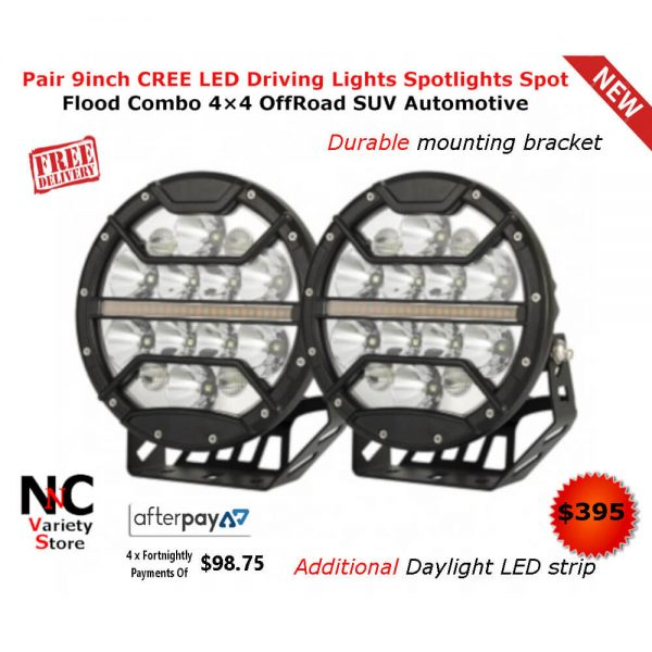 CREE LED Headlight with LG Lithium Battery Spot and Flood Combo Lens Heavy-duty