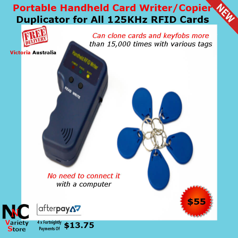 Portable Handheld Card Writer/Copier Duplicator for All
