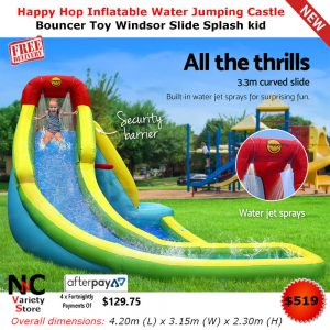 Nnc nice n cheap variety store for Happy hop inflatable water slide